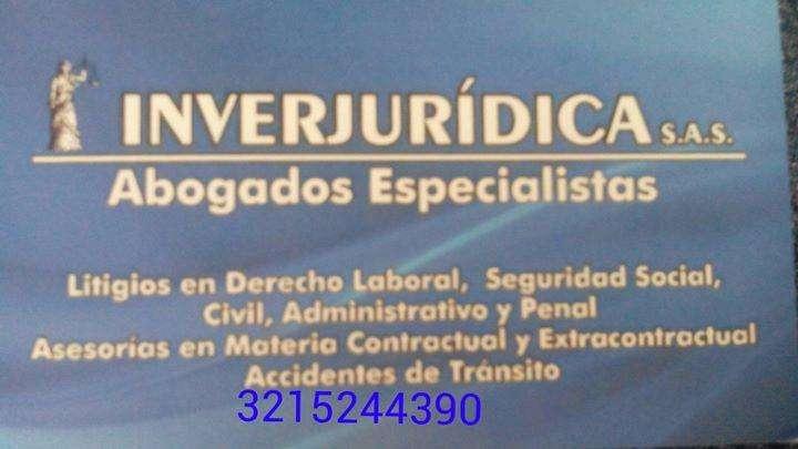 ABOGADOS INVERJURICA S.A.S ASESORÍAS LEGALES