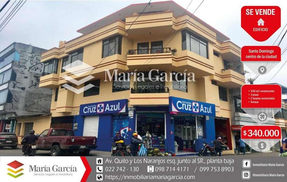 <strong>edificio</strong> comercial en venta en el centro de Santo Domingo