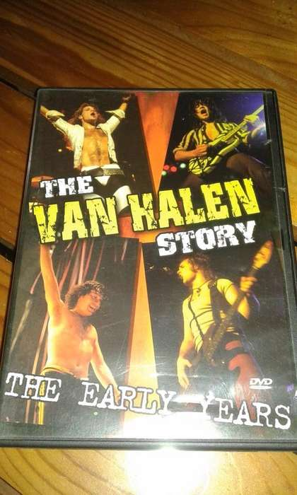 The VAN HALLEN Story The Early Years DVD.