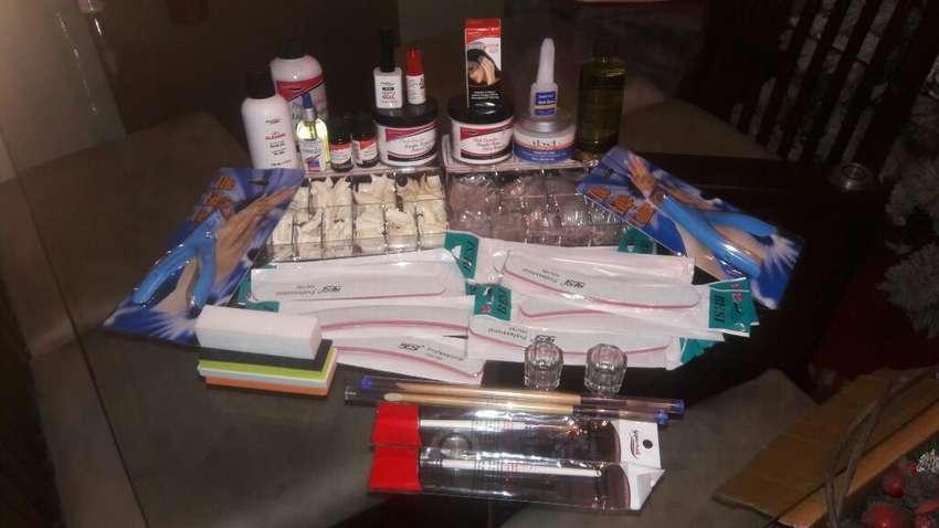 Kit Completo Para Uñas Acrilicas Salud Belleza 1037428403