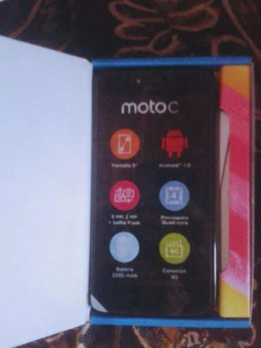 Vendo Moto C Nuevo en Caja