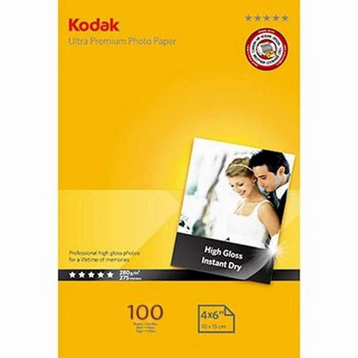 Kodak Ultra Premium / Papel Fotográfico 100 Hojas / 10x15 4r