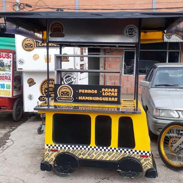 Hermoso <strong>carrito</strong> para Comidas Rapidas