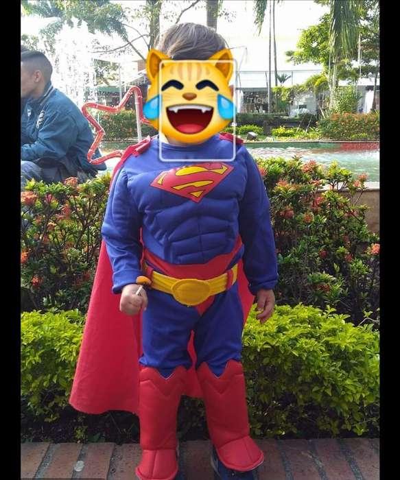 Disfraz de Super Man