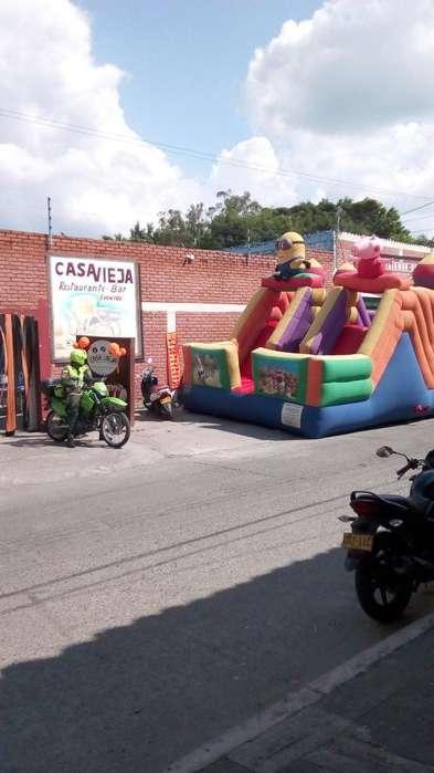 Inflable para Fiestas Infantiles Palmira