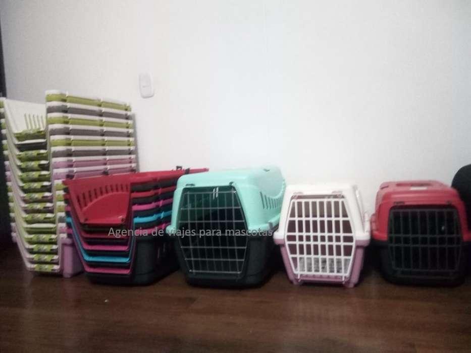 guacales para el trasporte de mascotas