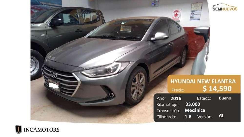 Hyundai New Elantra 2016 - 33000 km