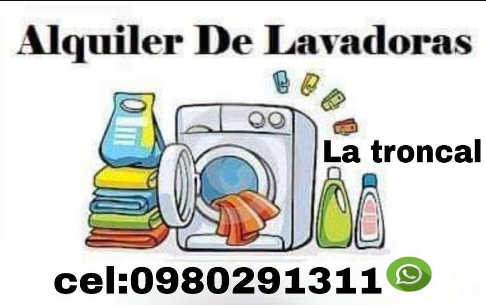 Alquiler de Lavadoras en La Troncal