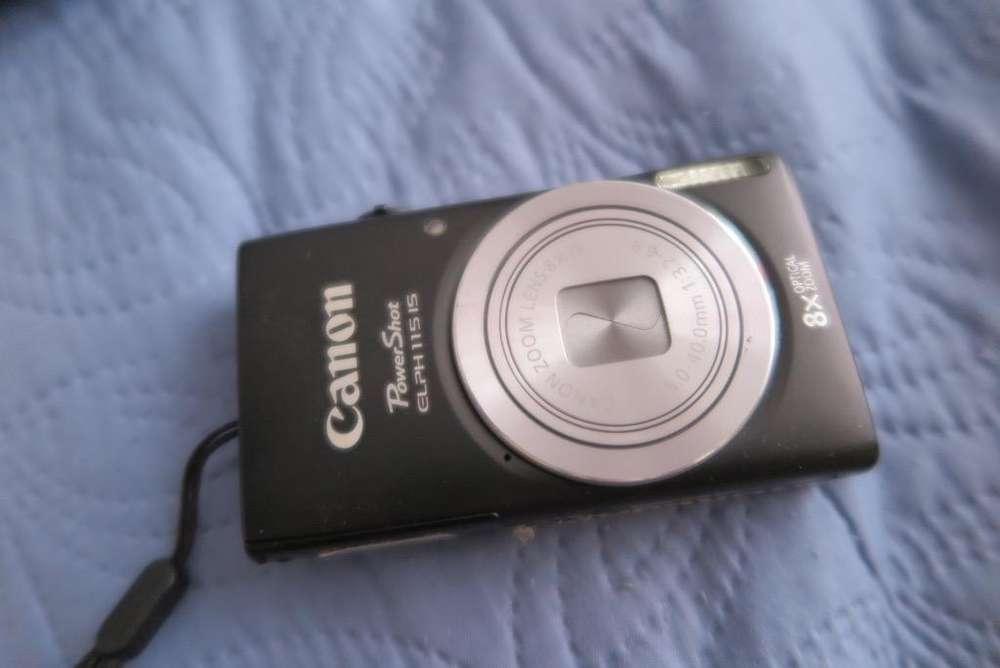Camara Canon Elph115 Negra