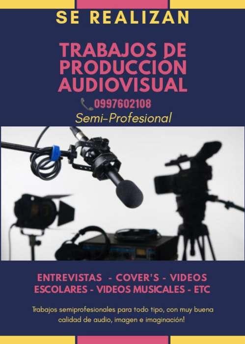 Trabajos Audiovisuales Semiprofesionales