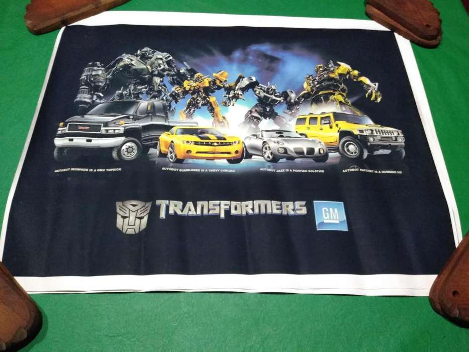 Poster Transformers Full Color