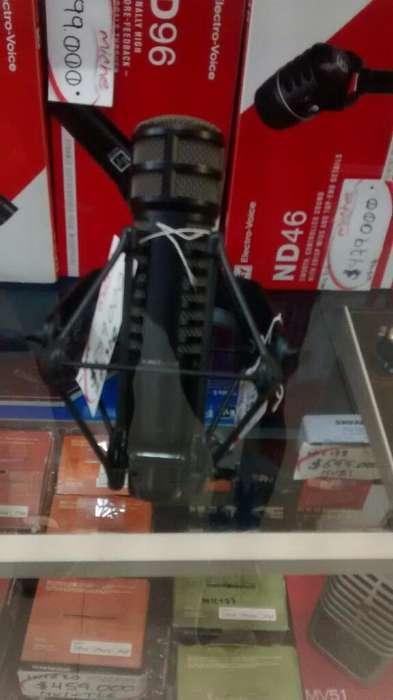 Micrófono Electro Voice Condensador