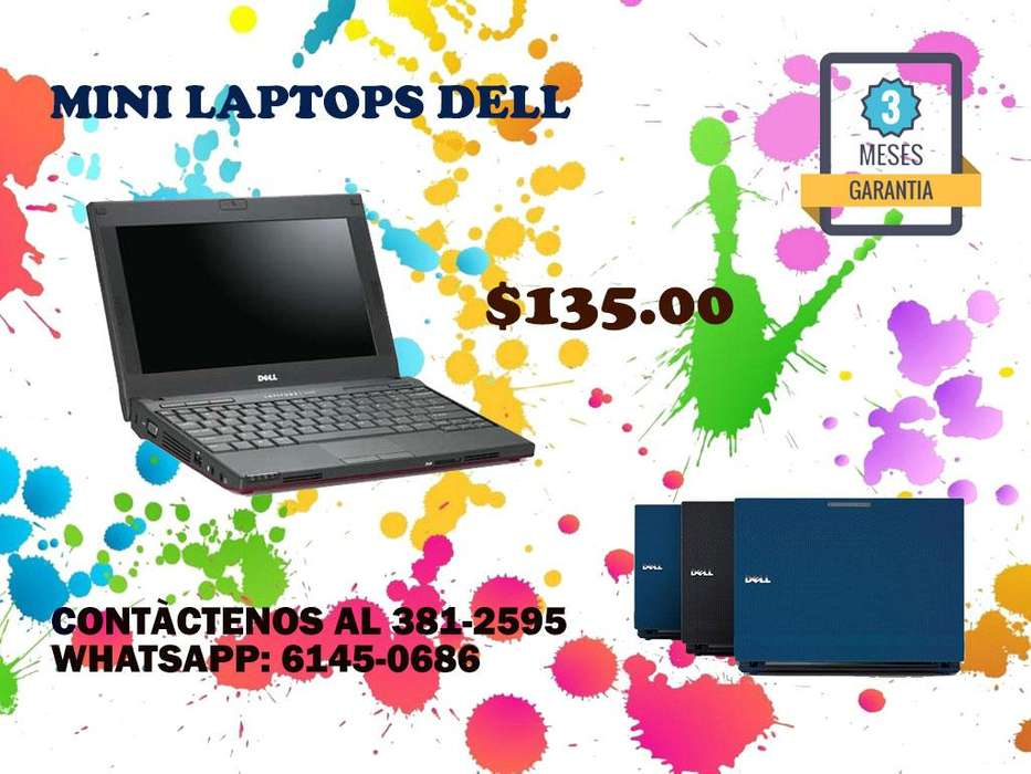 SE VENDEN MINI LAPTOPS DELL