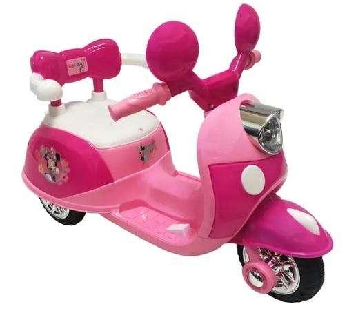 Moto Eléctrica para Niñas montable - modelo Minnie