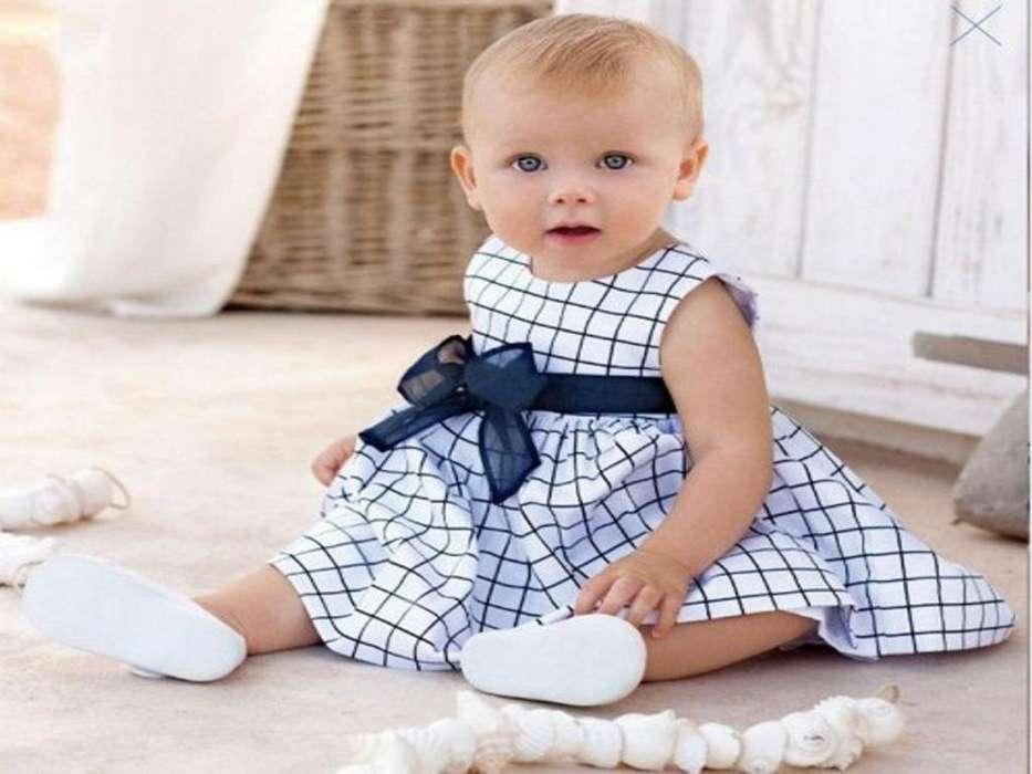 Vestido de verano infantil Respetuoso del medio ambiente