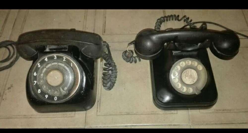 Teléfono Antiguo Negro