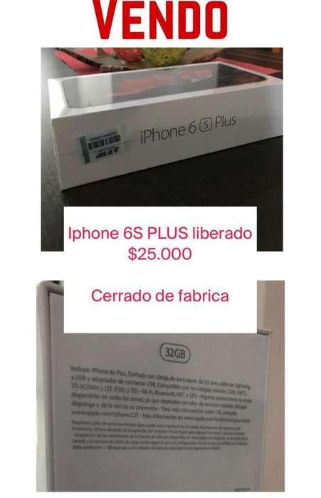 iPhone 6S Plus cerrado de fabrica 32gb