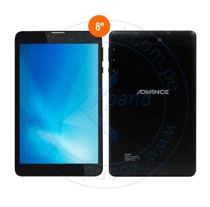 Tablet chip 4G Nuevo, se emite comprobante electrónico
