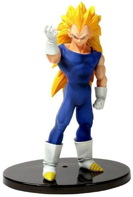 Figura Coleccion Dragon Ball Z Vegeta Super Saiyan 3