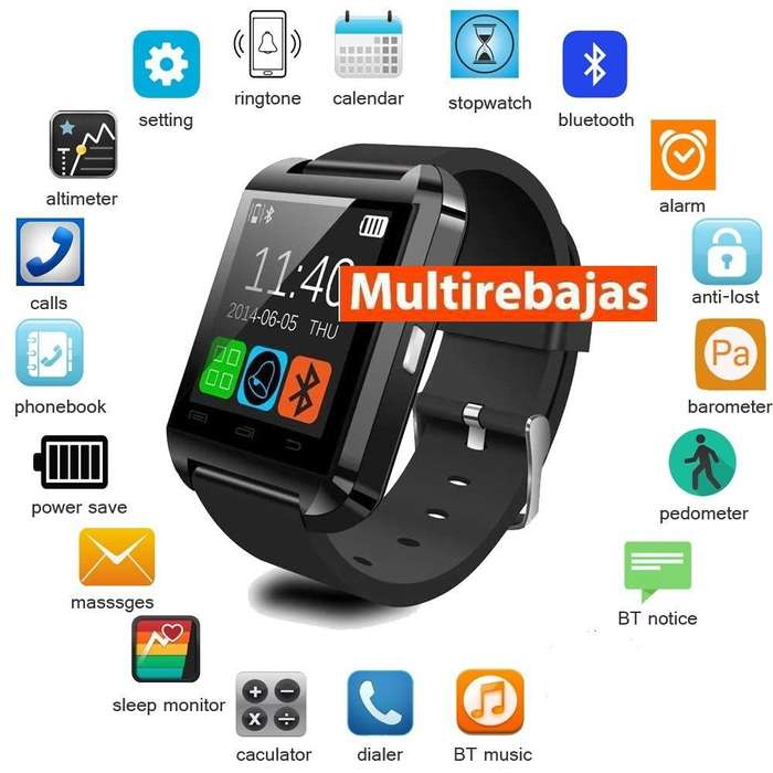 Smartwatch Reloj Inteligente <strong>bluetooth</strong> Android