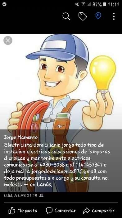 Electrcista domiciliario