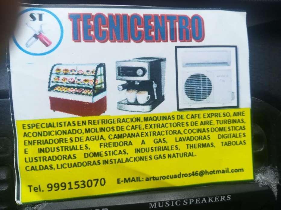 Técnicos Refrigeración