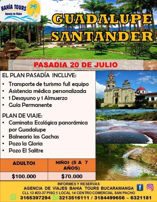 Tour Guadalupe 20 de Julio