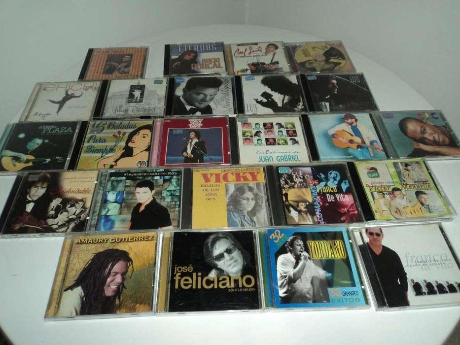 Se venden CD de música, originales