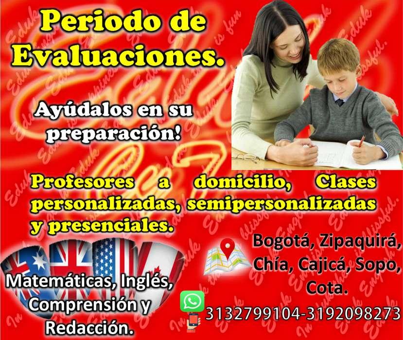 Clases de Matemáticas, Inglés, Física, Química. Bogotá-Cundinamarca (Chia, Cajicá, Cota, Zipaquirá) - 3132799104