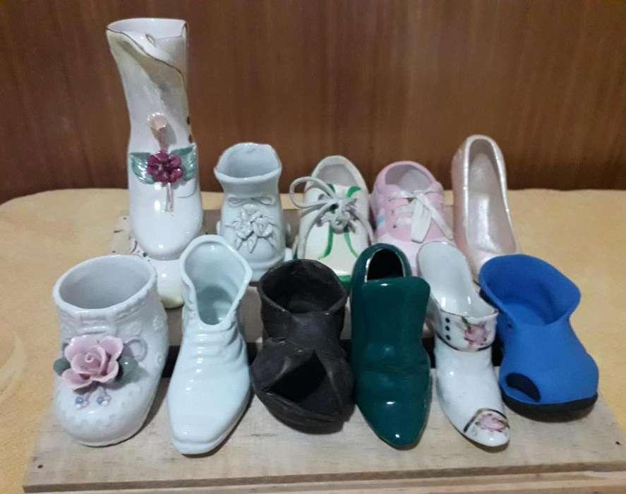 Colección de Zapatos de Cerámica