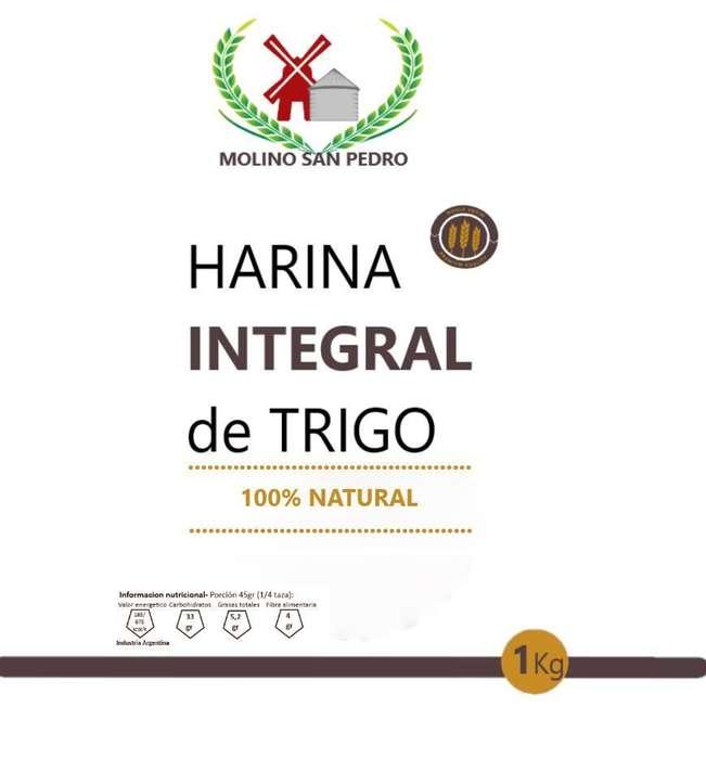 Harina Integral 100% 25kg