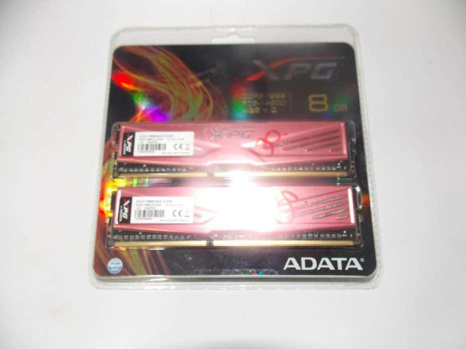 MEMORIAS RAM KIT DOS DE 4 GB 8GB EN TOTAL
