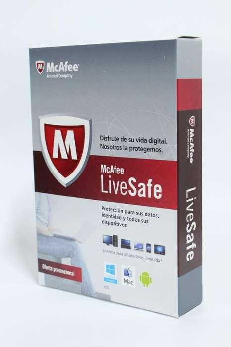 Antivirus Mcafee Livesafe Multi