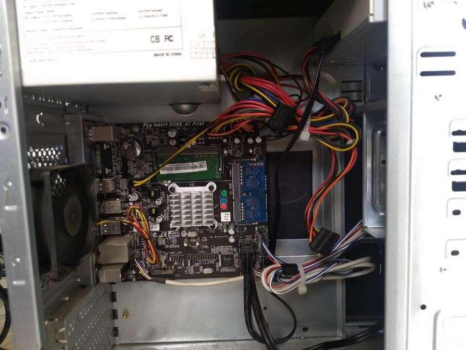 Computador de mesa combo completo celeron 6ta gen 4gb de ram
