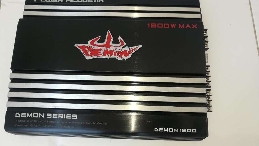 Amplificador Power Acoustik 1800w