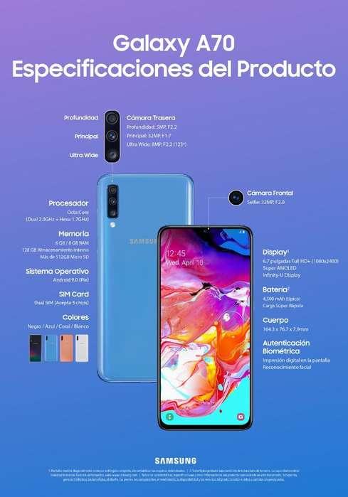 Samsung Galaxy A70 (nuevo)