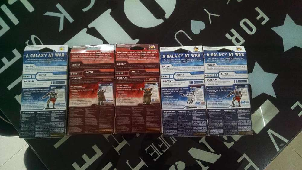 Paquete de miniaturas para: Star Wars Miniatures, Clone Wars, Jedi Academy