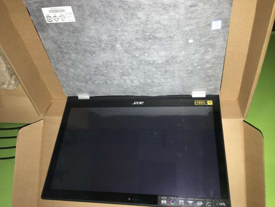 Acer Spin 3 Sp315-51-52 Ub Intel Core I5 Negro <strong>notebook</strong>