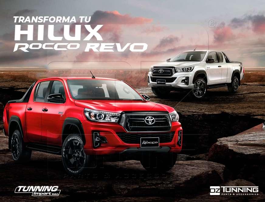 Transforma tu Toyota Hilux: Kit Rocco, Kit Rocco TRD, Máscaras Revo, Fenders, Neblineros Spoiler