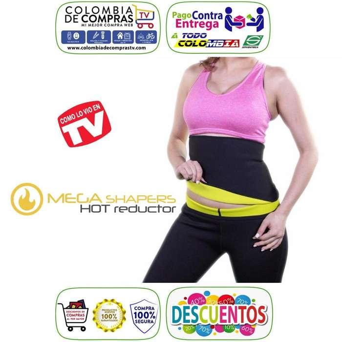 Faja Hot Cinturilla Tv Reductora Unisex Mega Shapers, Nuevos, Garantizados