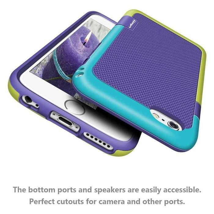 Case / Carcasa para Celular iPhone 6/6S/7/7 Plus 3 colores