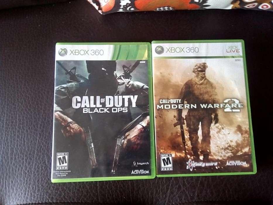 Juegos Xbox360 Call Of Duty Black Ops Originales