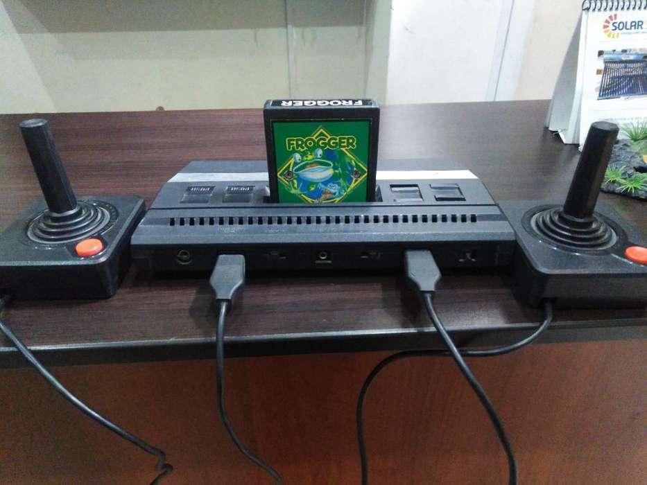 Atari 2600 Aux Audio 200 Juegos