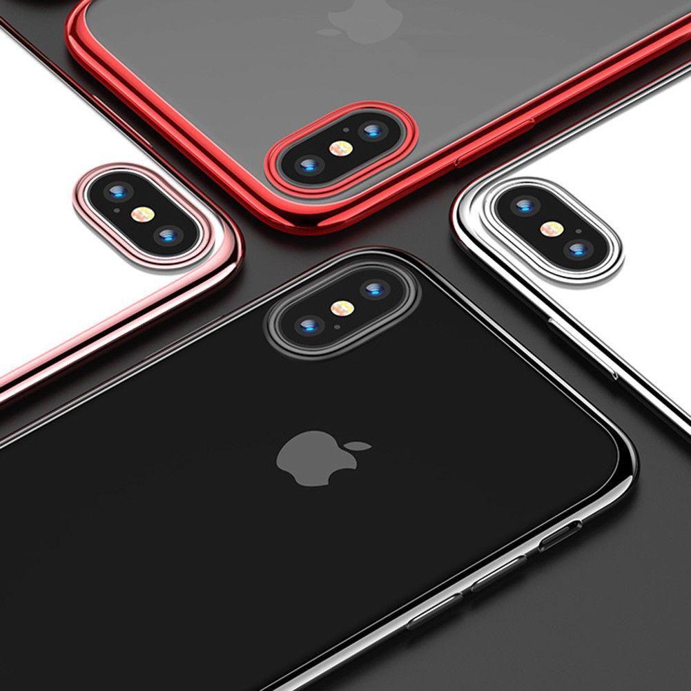Fundas Apple Silicona Case Estuche Iphone X 10