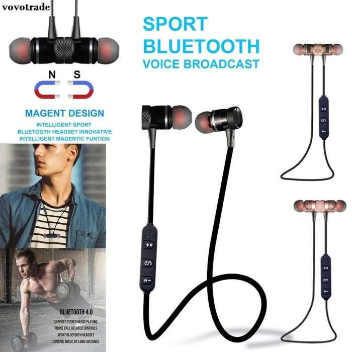 Auriculares Bluetooth con Imanes