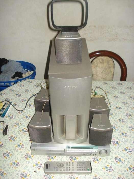 Venta De Home Theather 5.1 Sony Hcds300 C/ctrl Orig Lee Dvds