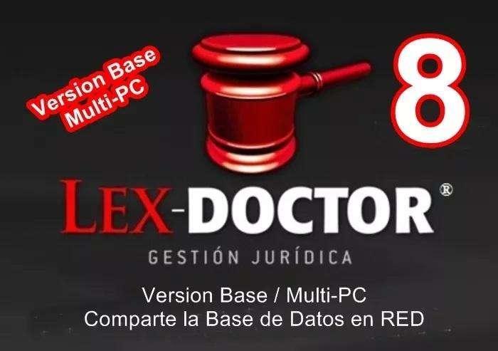 Lex Doctor 8 Version BASE para <strong>pc</strong> SERVIDOR COMPARTE BASE DE DATOS CHAVEZ Computacion