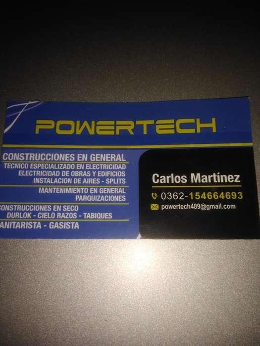 Técnico en Electricidad Y Sanitarista