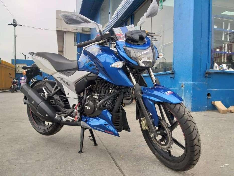 MOTOCICLETA APACHE TVS 160 INDIA // CHIMASA S.A