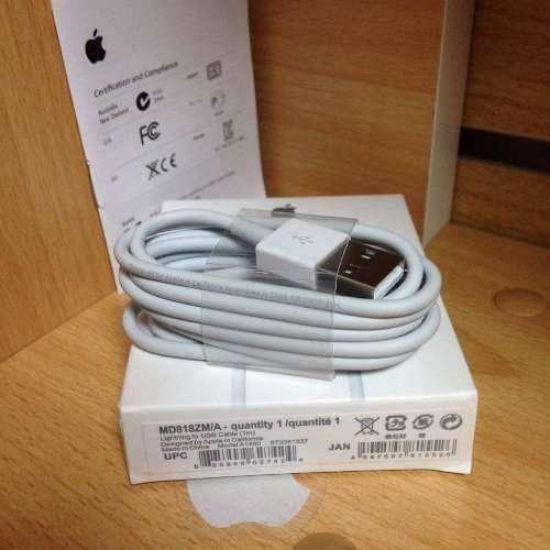 Cable Lightning Apple Original Caja Iphone 5 5s 6 6s 7